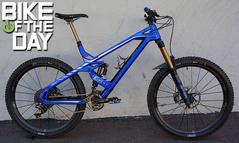10365c9cd70 Custom Eminent Haste - mienduroguy's Bike Check - Vital MTB