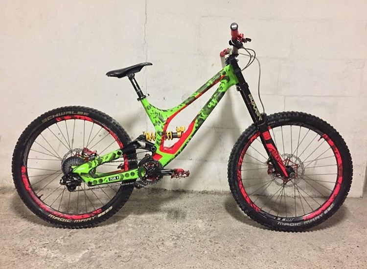 Specialized Demo 8 2017 Alloy Frame