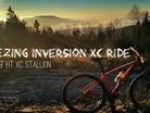 Freezing inversion XC ride.