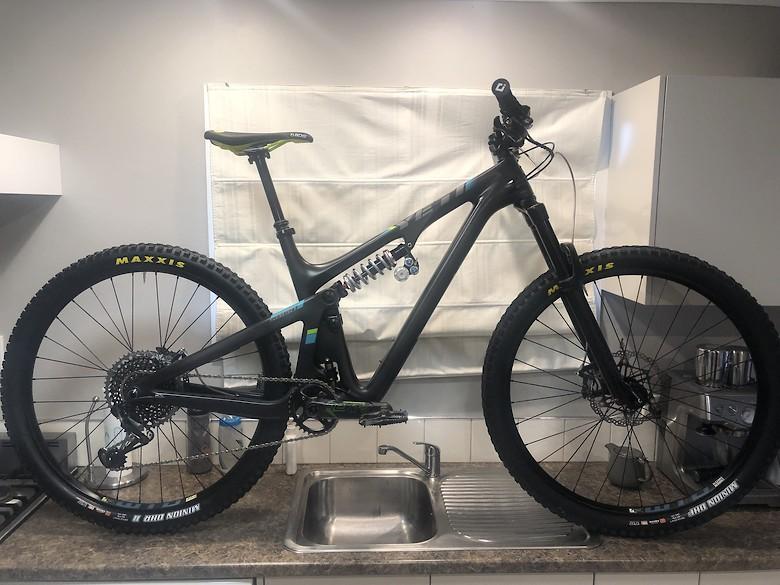 Yeti SB130 LR - Matt_Barker's Bike Check - Vital MTB
