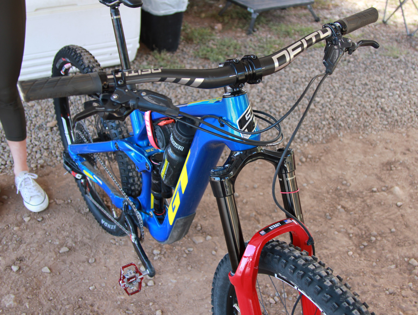 A Little Different - Pit Bits 2019 Enduro World Series - Northstar - Mountain Biking Pictures - Vital MTB