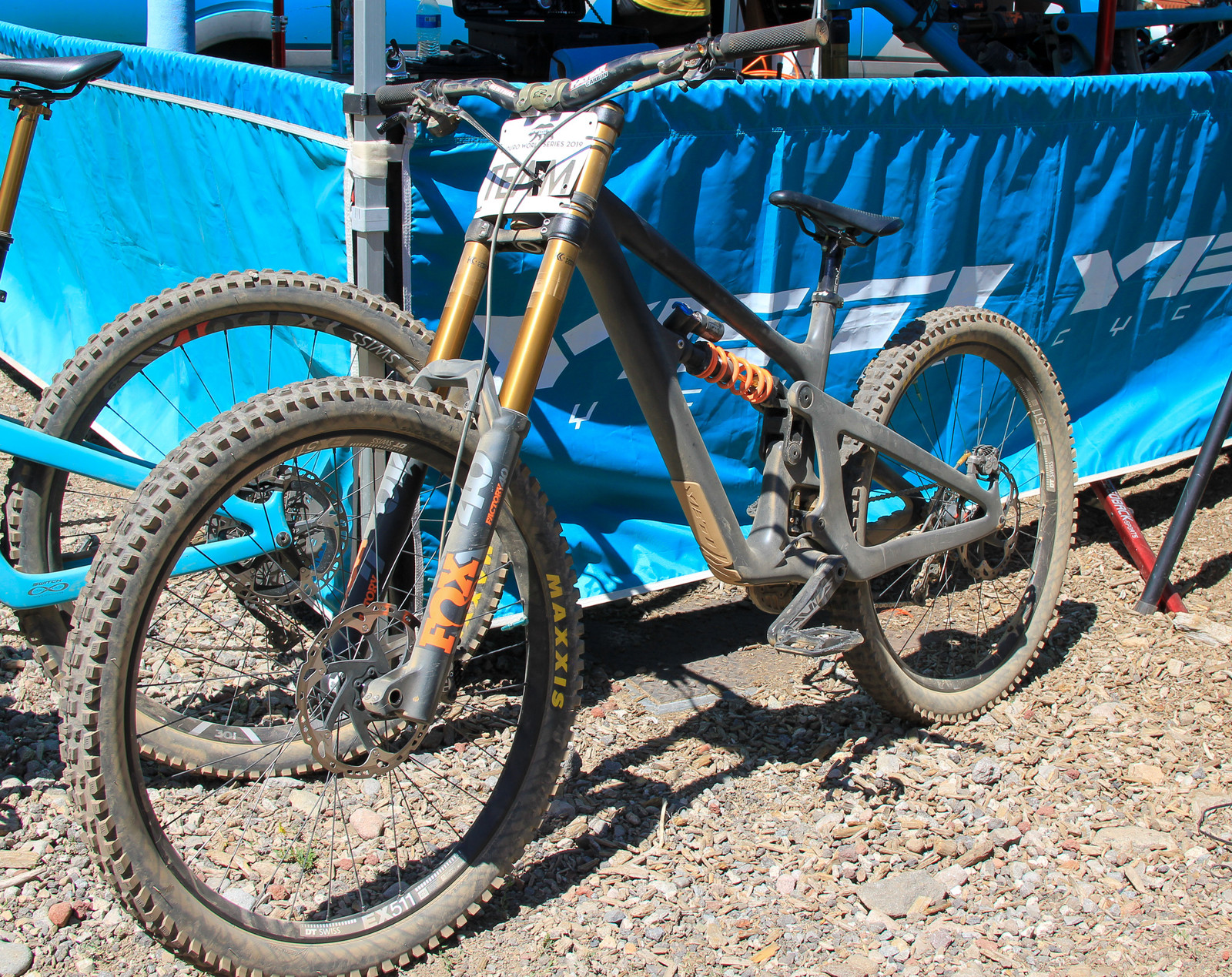 SB165 27.5 DH Bike - Pit Bits 2019 Enduro World Series - Northstar - Mountain Biking Pictures - Vital MTB