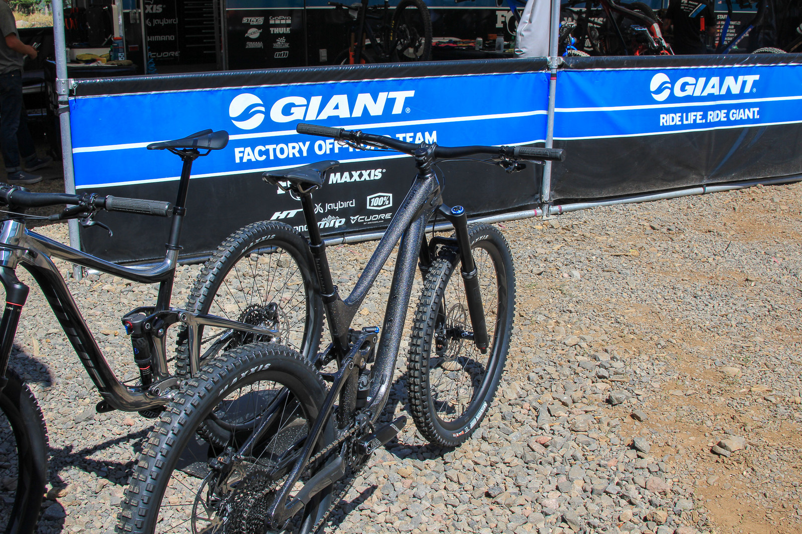 Bass Boat - Pit Bits 2019 Enduro World Series - Northstar - Mountain Biking Pictures - Vital MTB