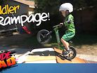 Toddler Rampage, the Next Generation Is Already Sending It
