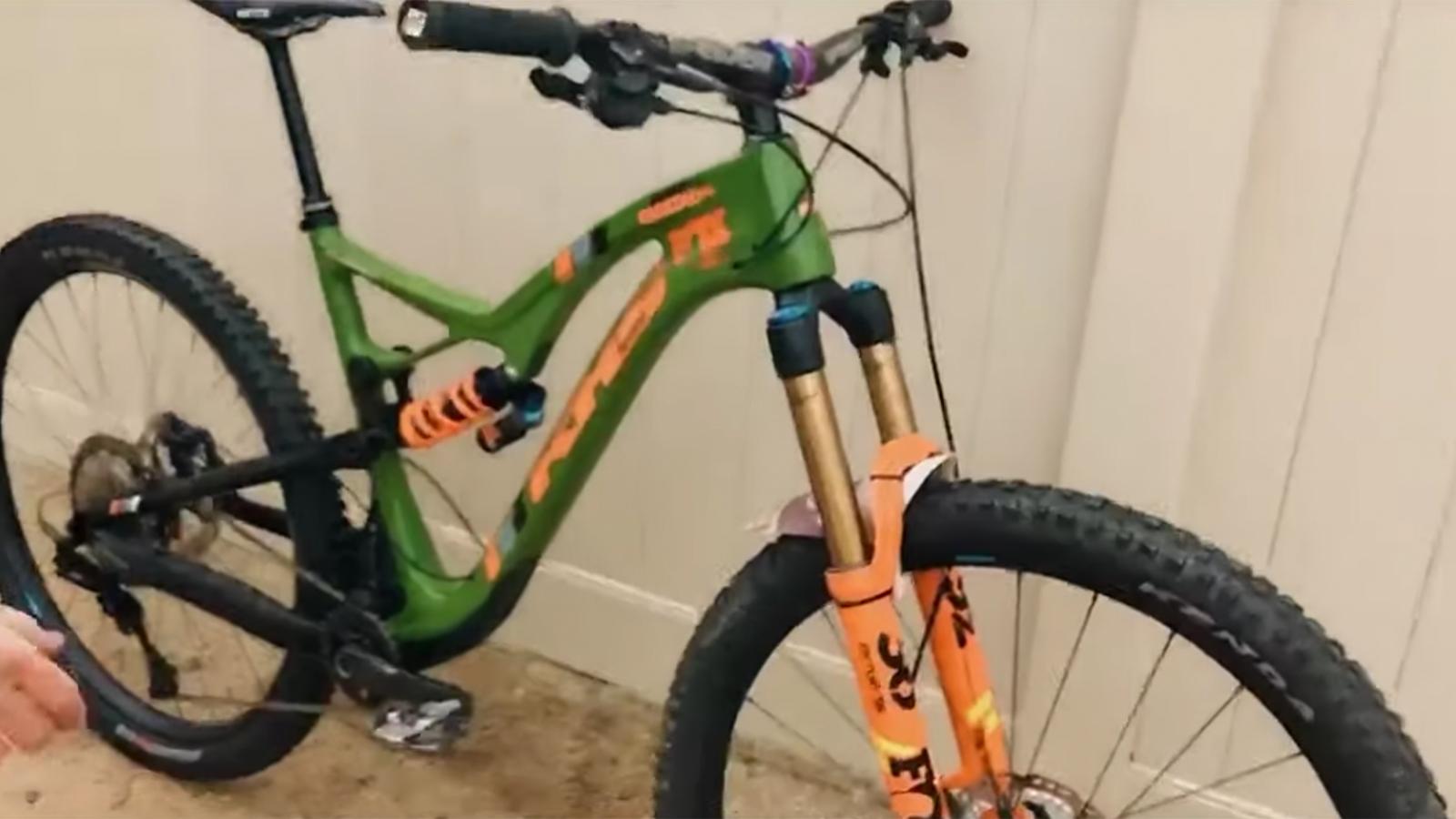 Bike Check: Nick Nestoroff's Killer KHS Trail Bike