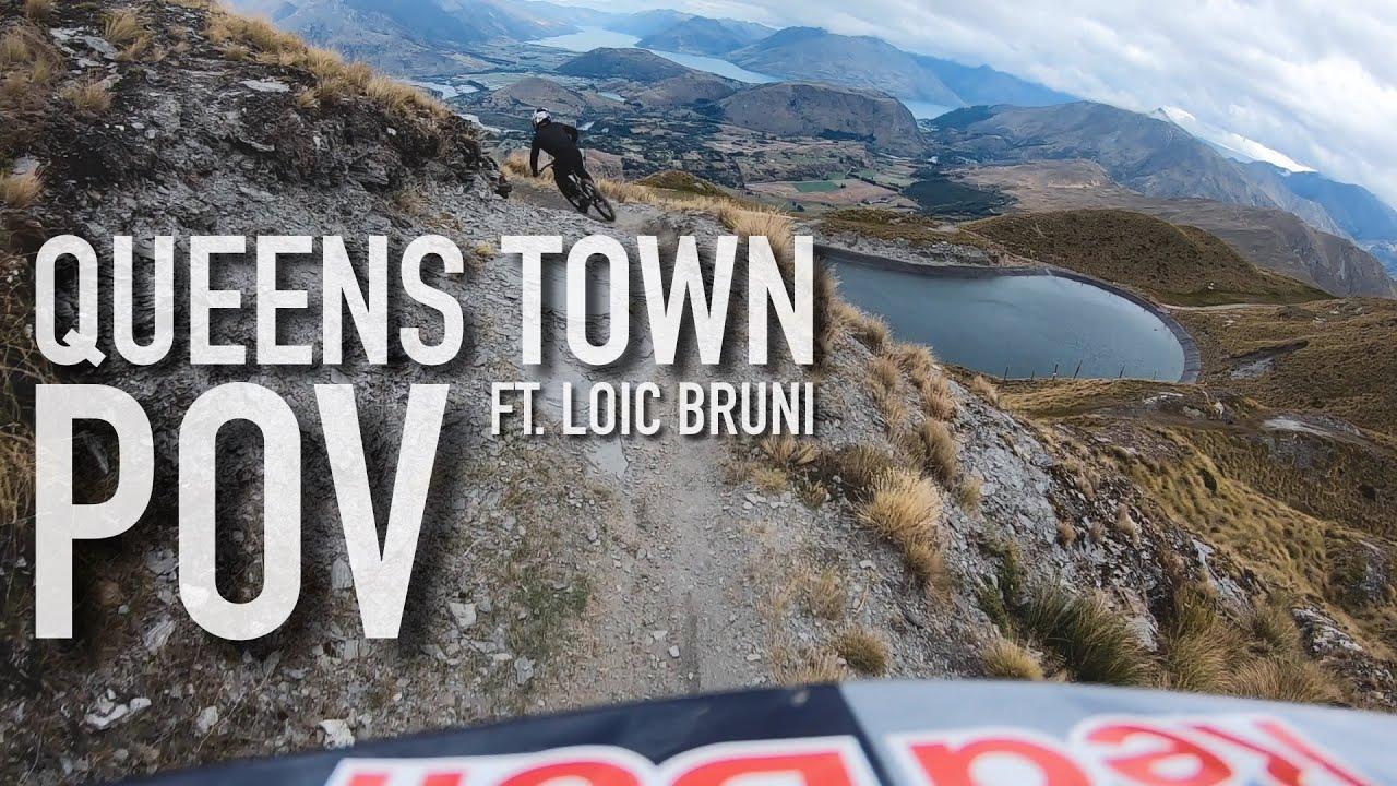 POV: Finn Iles Rides Queenstown with Loic Bruni