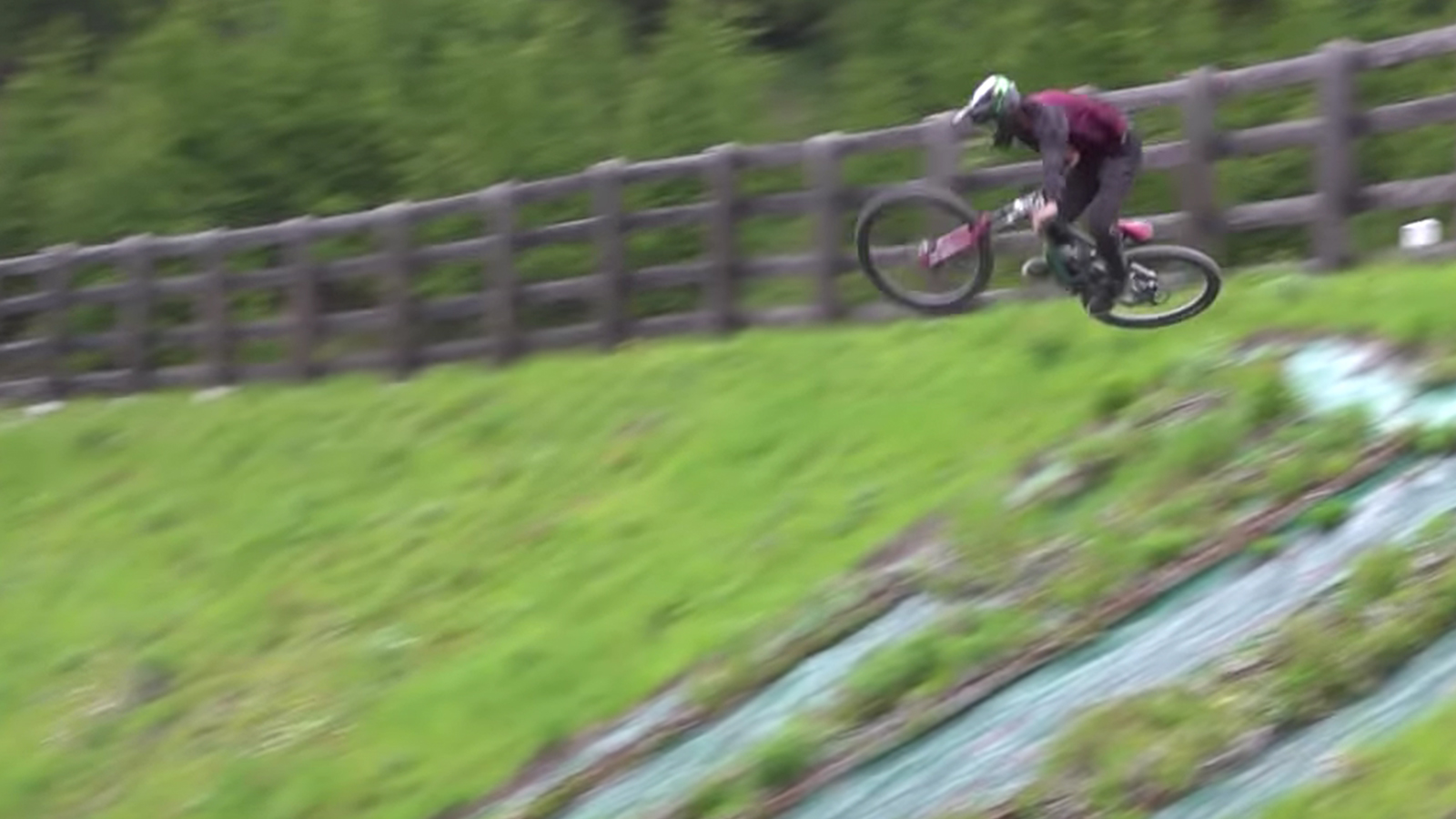 Ratboy on a Downhill Bike, What More Do You Want?