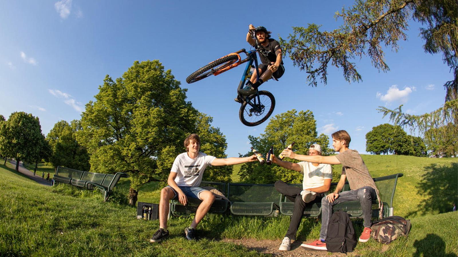 BMX kicker ramp t-shirt