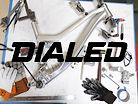 Prototype Frames and Custom Suspension - FOX Dialed Visits Intense Factory Racing