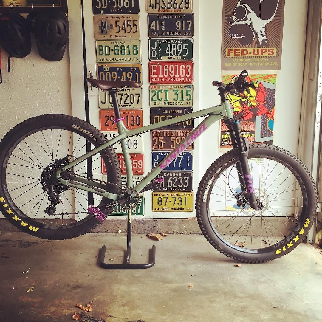 "2017 Santa Cruz Chameleon 27.5""+"