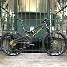 MONOTRACE - Second prototype - XXL Trail bike - homemade