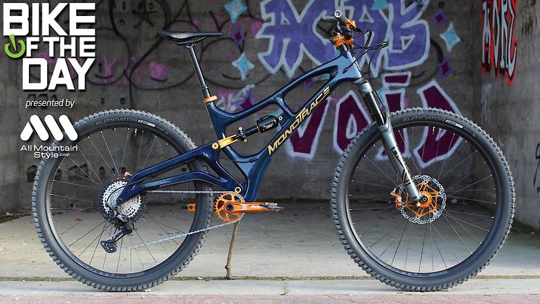 MONOTRACE - Numero 3 - Trail bike - homemade