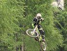 Team InFocus: Andi Tillmann rides Schladming