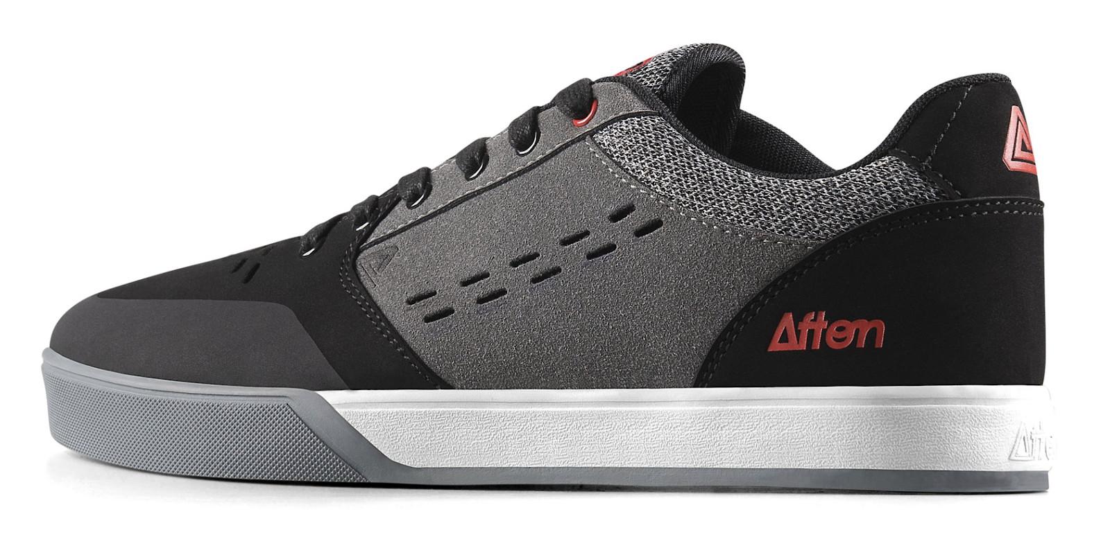Keegan Grey/Red $99.99 - Afton Shoes - Mountain Biking Pictures - Vital MTB