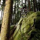 Brett Tippie in North Van, Rocky Mountain shoot