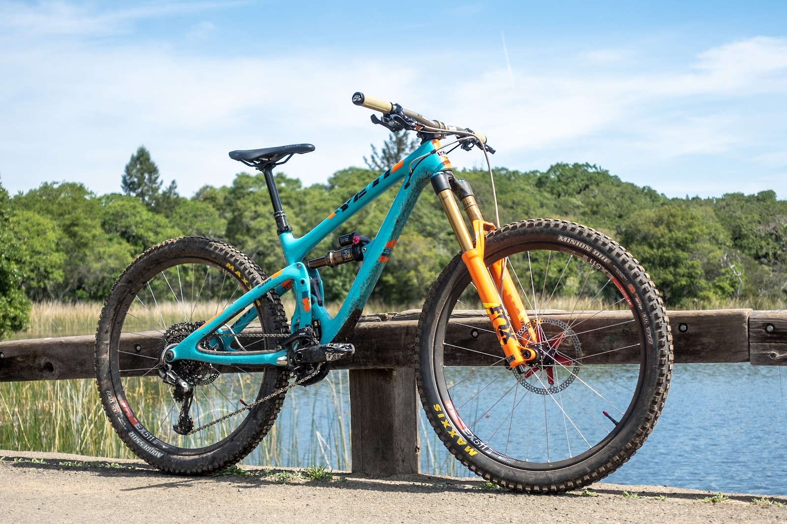 2018 Yeti SB6 Turq, with build pics
