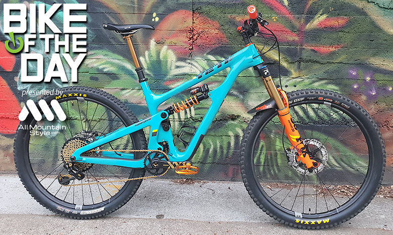 Yeti SB150 2019 - custom build.