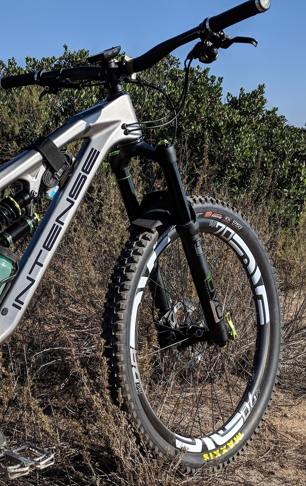 75ec9e2ed9a Intense Spider - kaymonster's Bike Check - Vital MTB