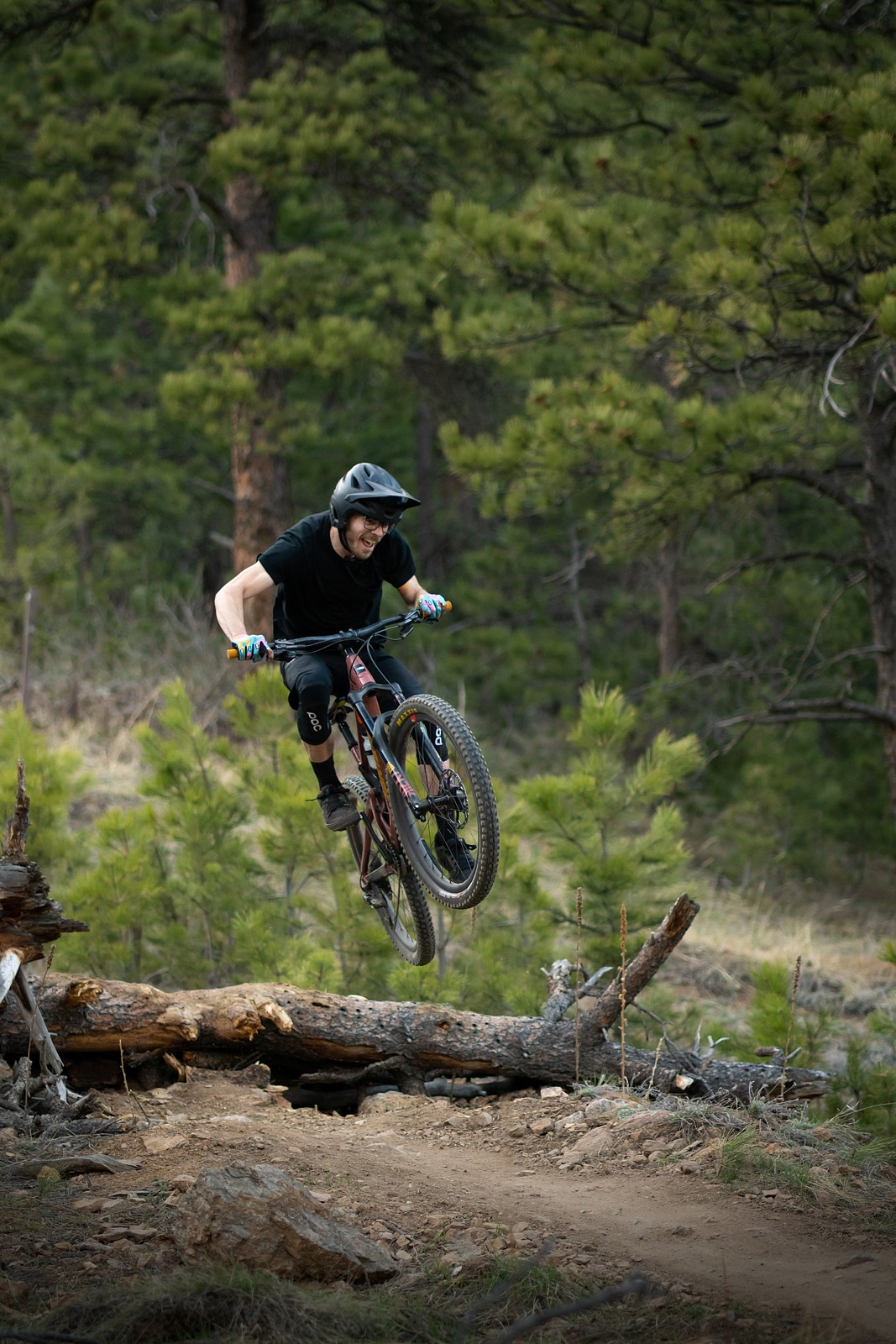stump jumping  - ur_pal_al - Mountain Biking Pictures - Vital MTB