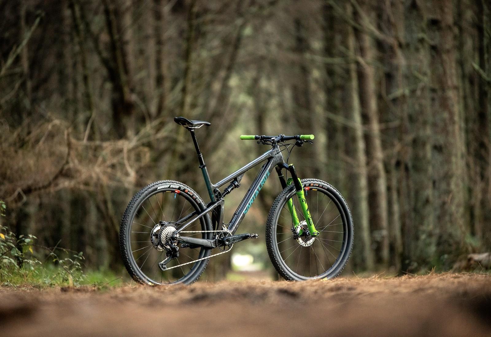Santa Cruz Blur - almost an XC bike