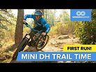 We Found A New (to us) Mini Downhill Trail - What A Blast!