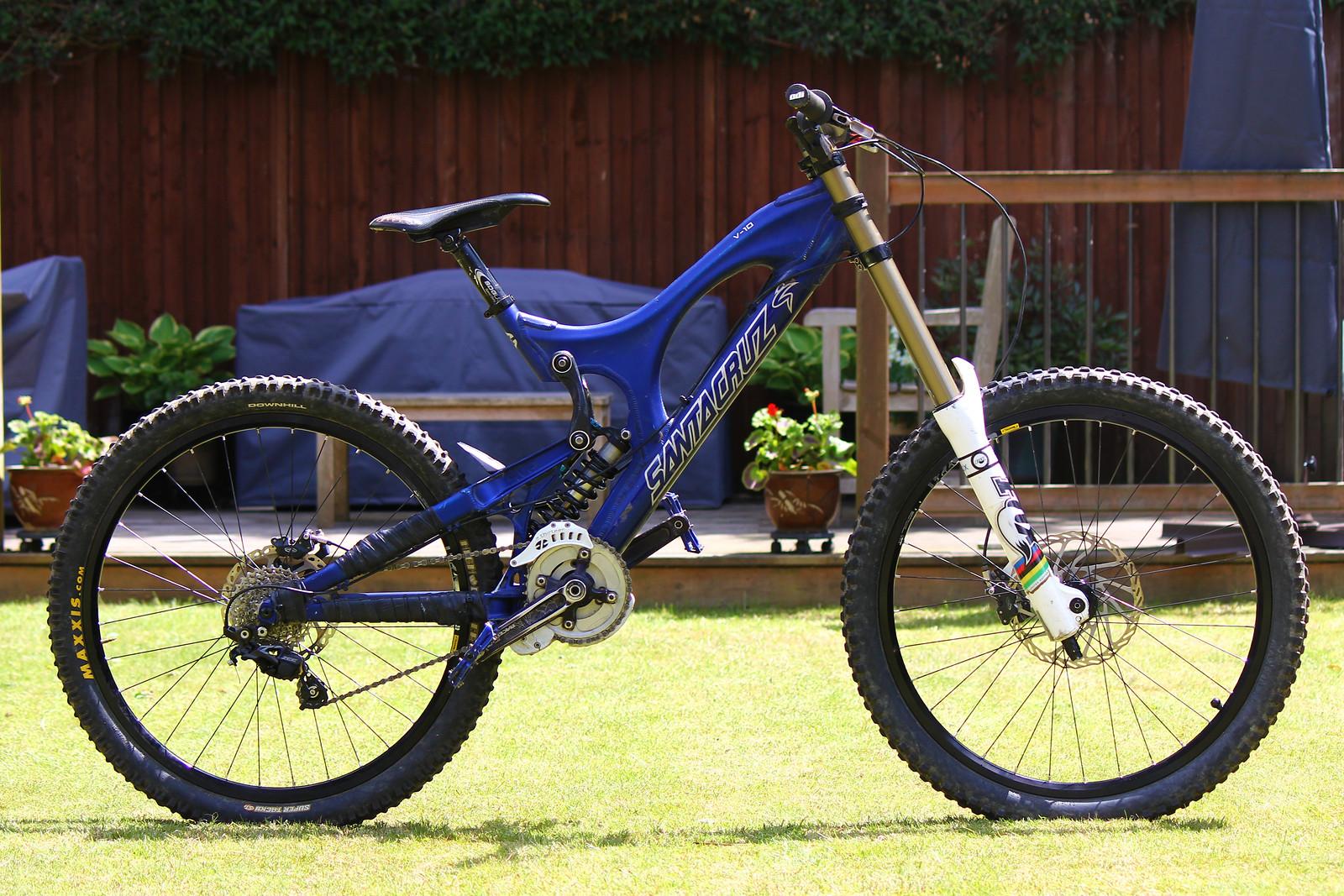 Santa Cruz v10 - David_Hill - Mountain Biking Pictures - Vital MTB
