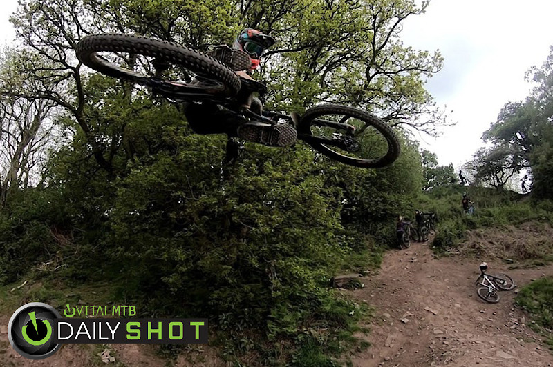 Sending it Sideways  - martin dunn - Mountain Biking Pictures - Vital MTB