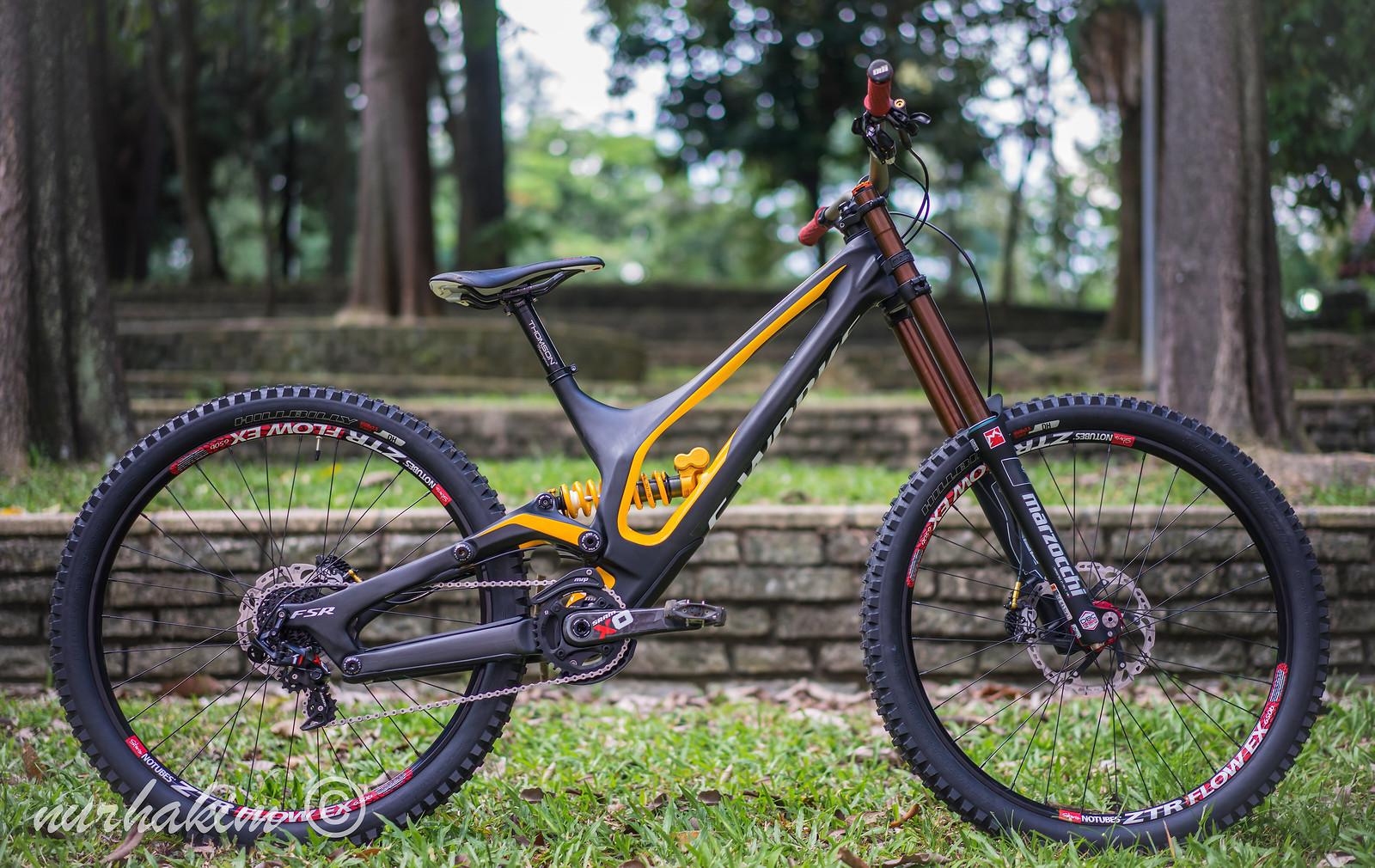 Specialized SWorks Demo 8 Carbon 650B 2015 custom