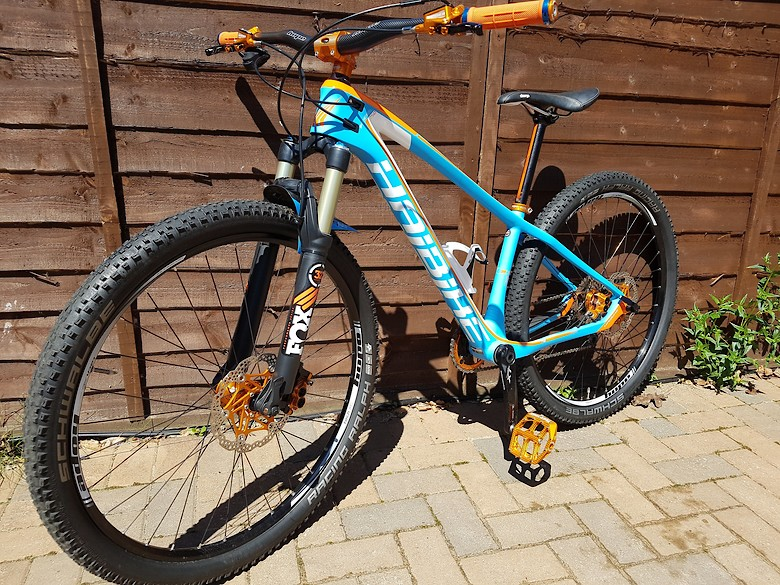 Haibike edition 7 model 50 27. 5 inches/mountain bike/cycle.