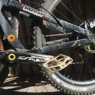 Blackmarket ROAM squish/crusher bike - BURNED