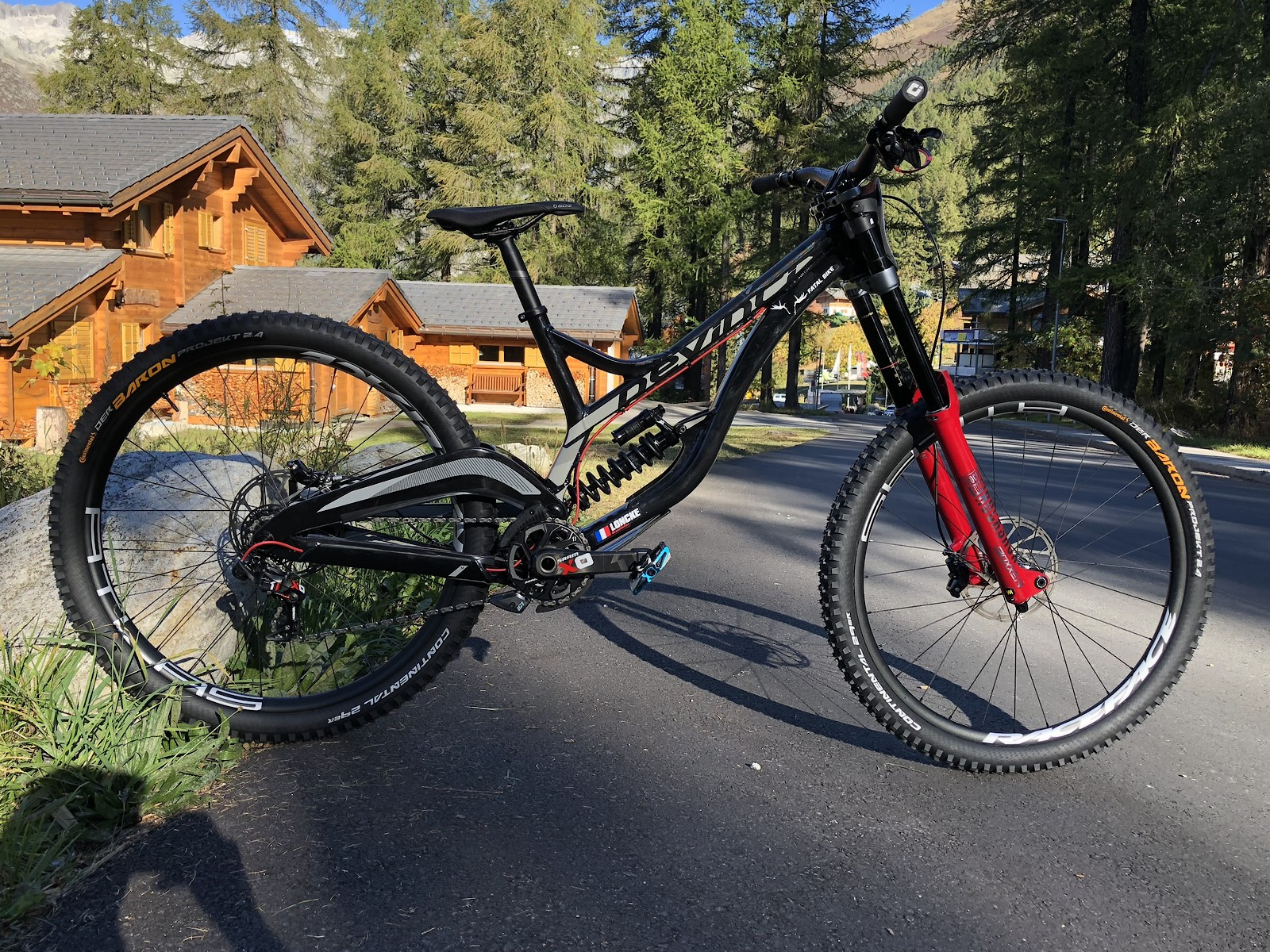15fc594d9a7 NEW DEVINCI WILSON 29 2019 - Gauthier Loncke's Bike Check - Vital MTB