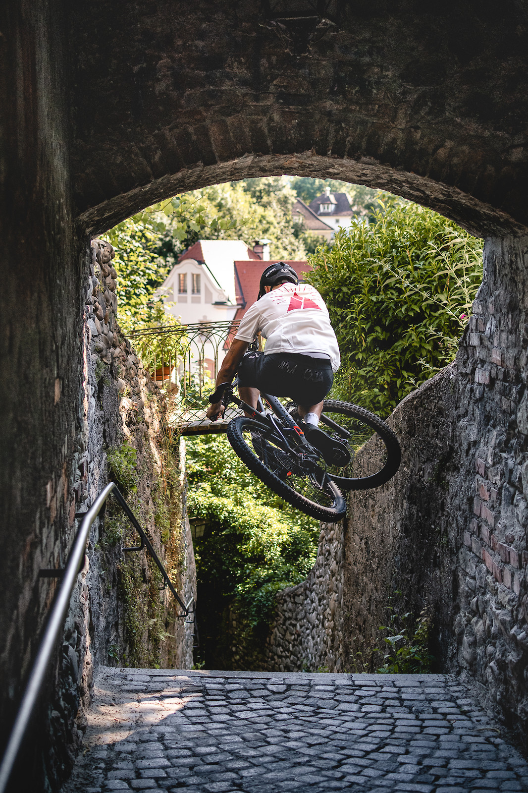 Through the tunnel  - Korbinian Engstler - Mountain Biking Pictures - Vital MTB