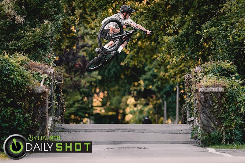 Bikeway Bump - Korbinian Engstler - Mountain Biking Pictures - Vital MTB