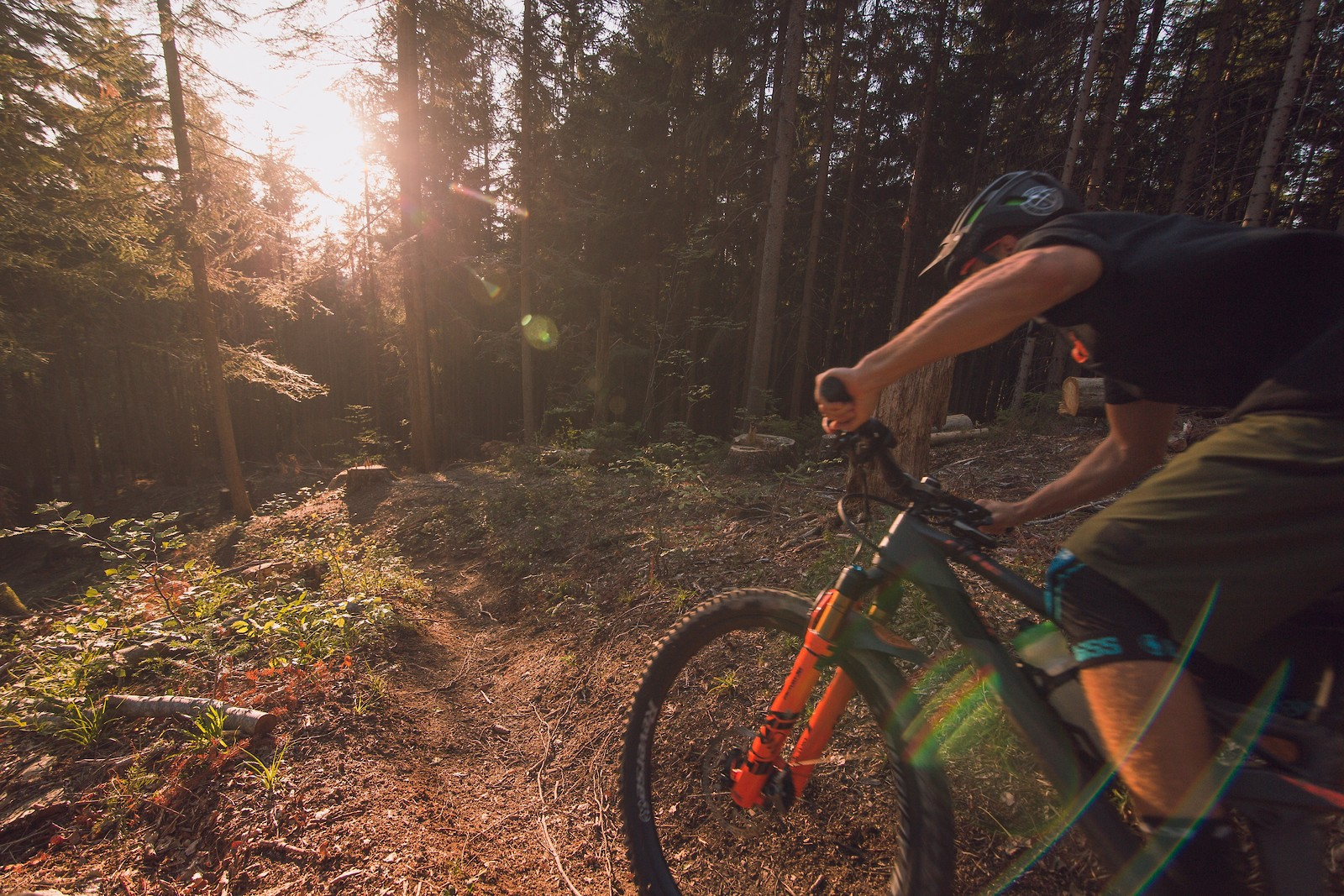 Into the sun - johnseehu - Mountain Biking Pictures - Vital MTB