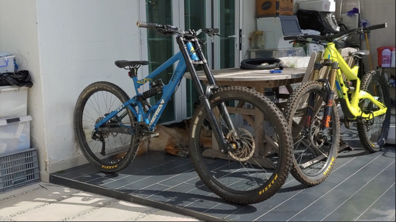 MERIDA ONE-Eighty Downhill bike (ENLUN Tuning™ )
