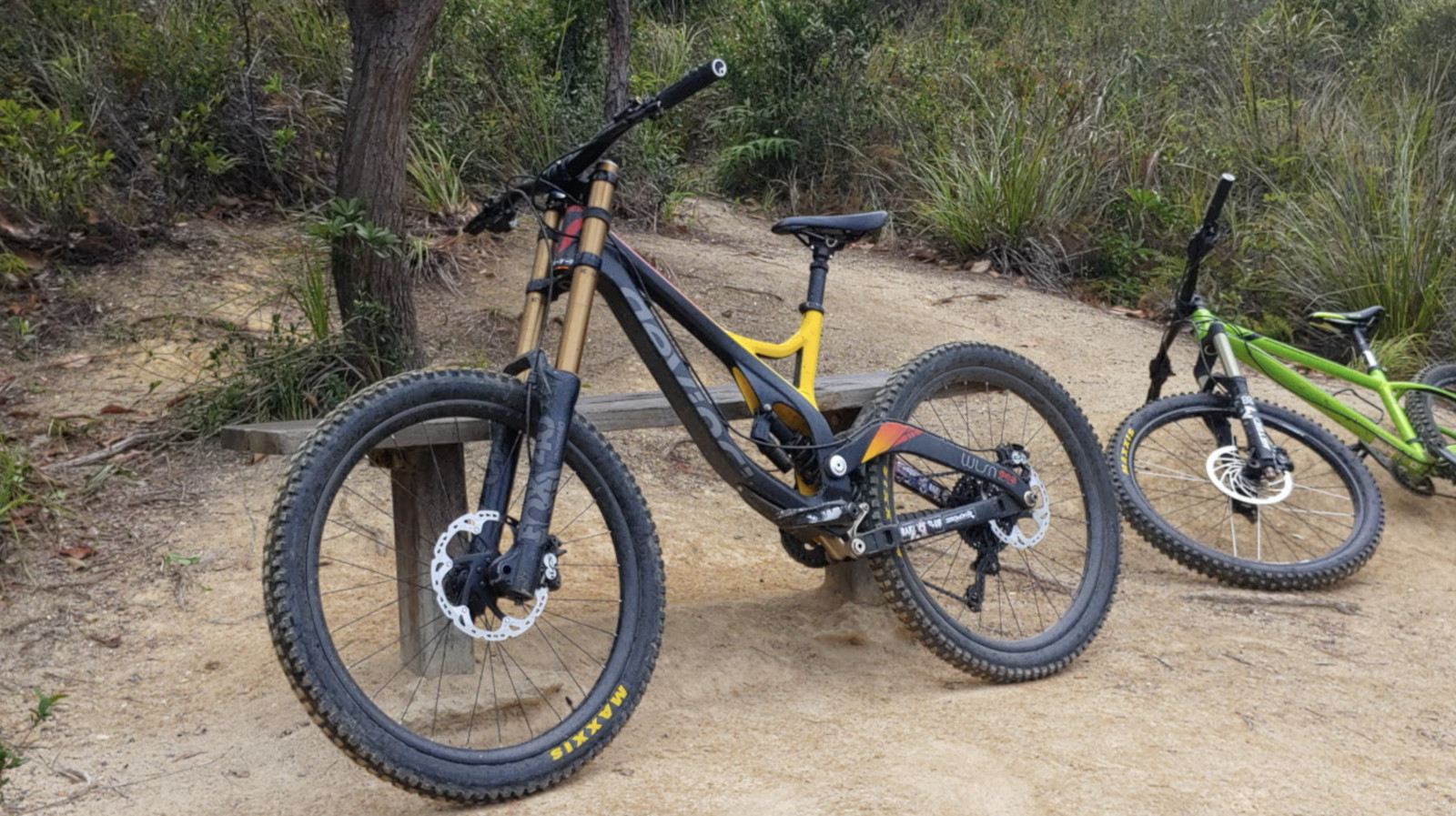 Devinci Wilson 2013 Downhill Bike (ZEROMON Tuning™)