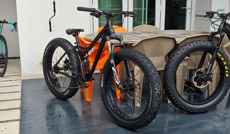ZEROMON EXS-01SLF Fat Bike | ENLUN Tuning™