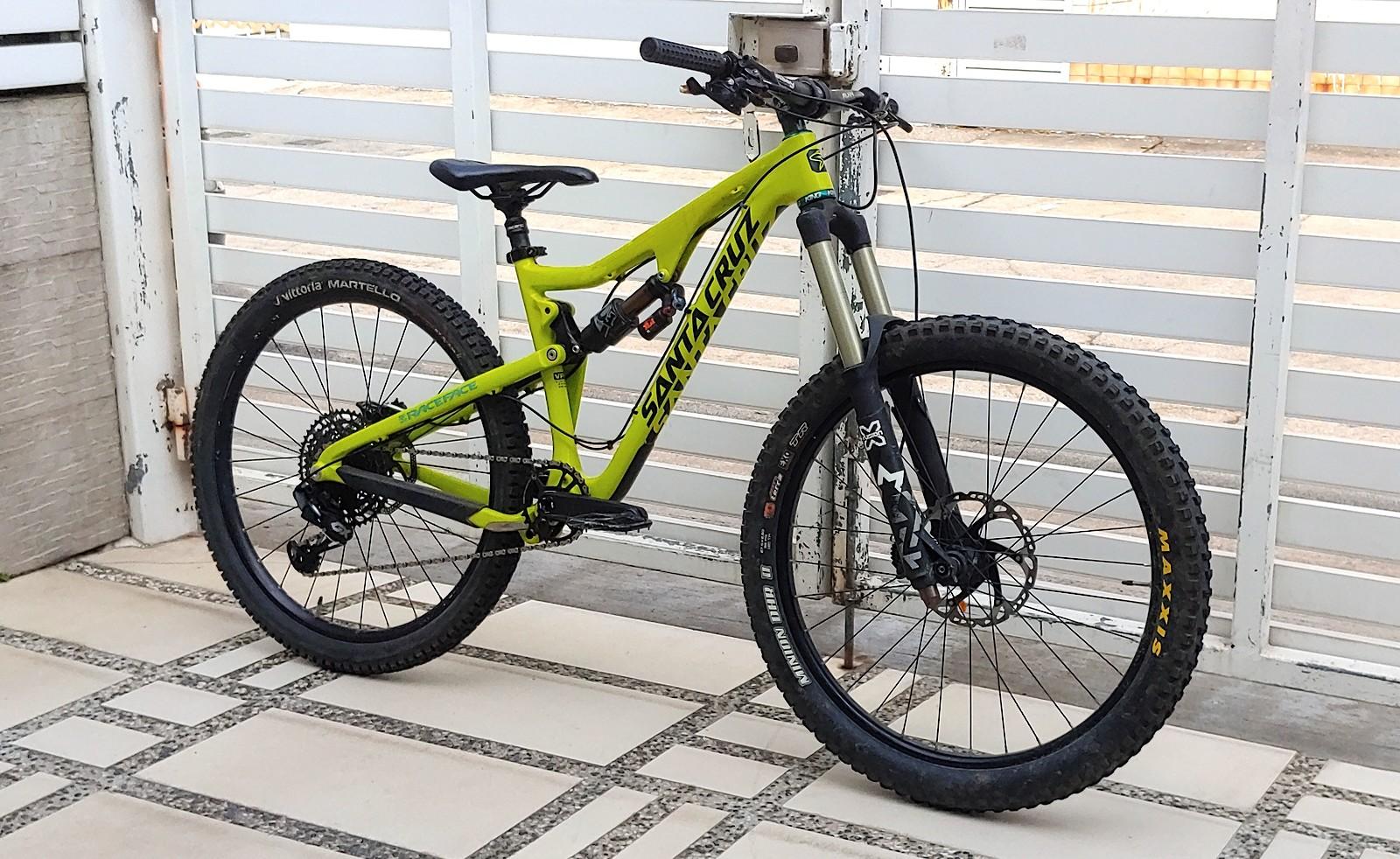 SANTA CRUZ BRONSON C | ZEROMON Tuning™ Custom Enduro Bike