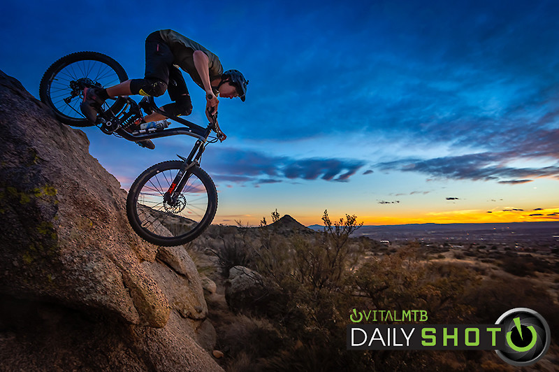 JK-Foothills-ABQ-2 - Curtis Gillen - Mountain Biking Pictures - Vital MTB