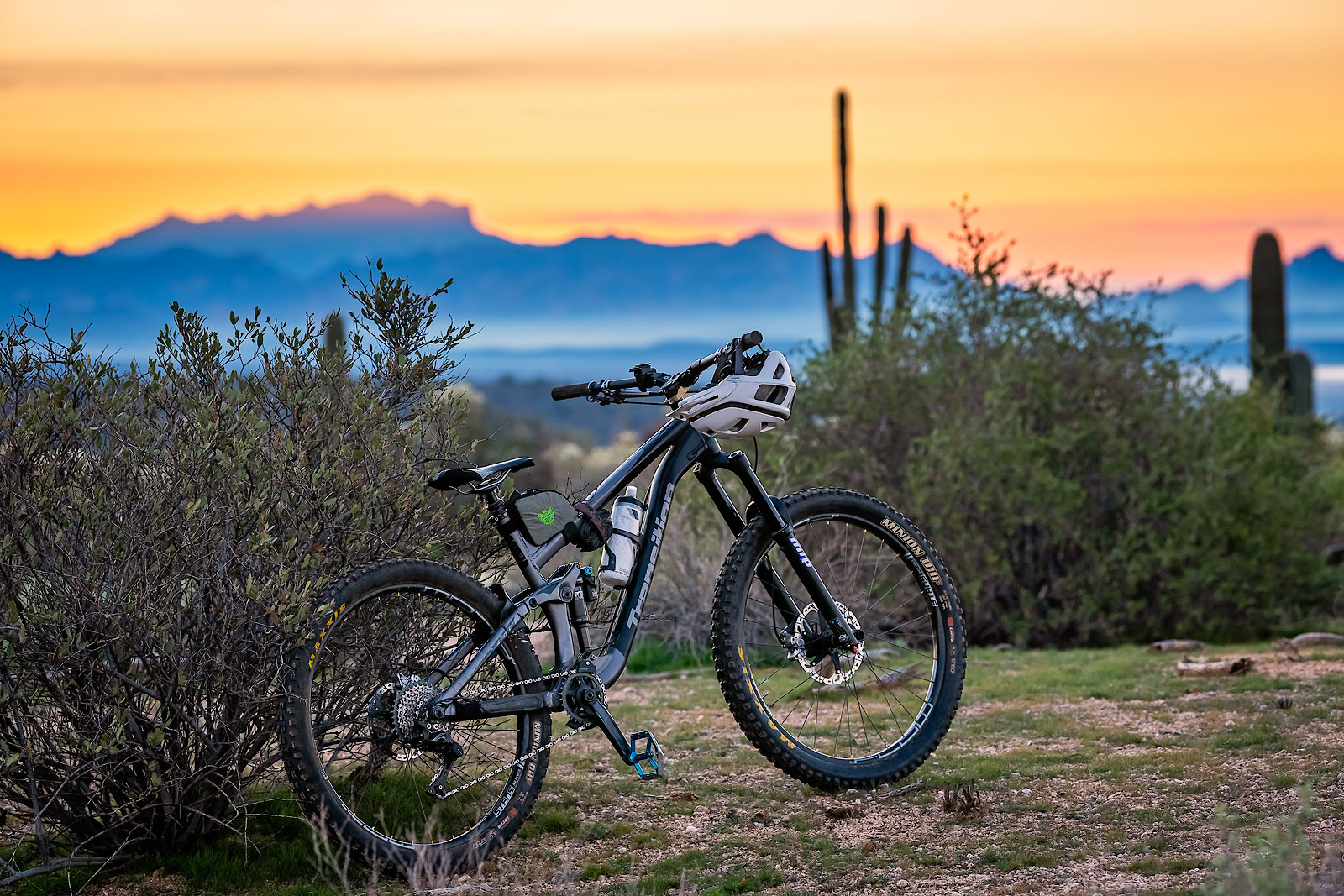 My ride, and an AZ sunrise