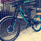Cyan beast Specialized SX Trail