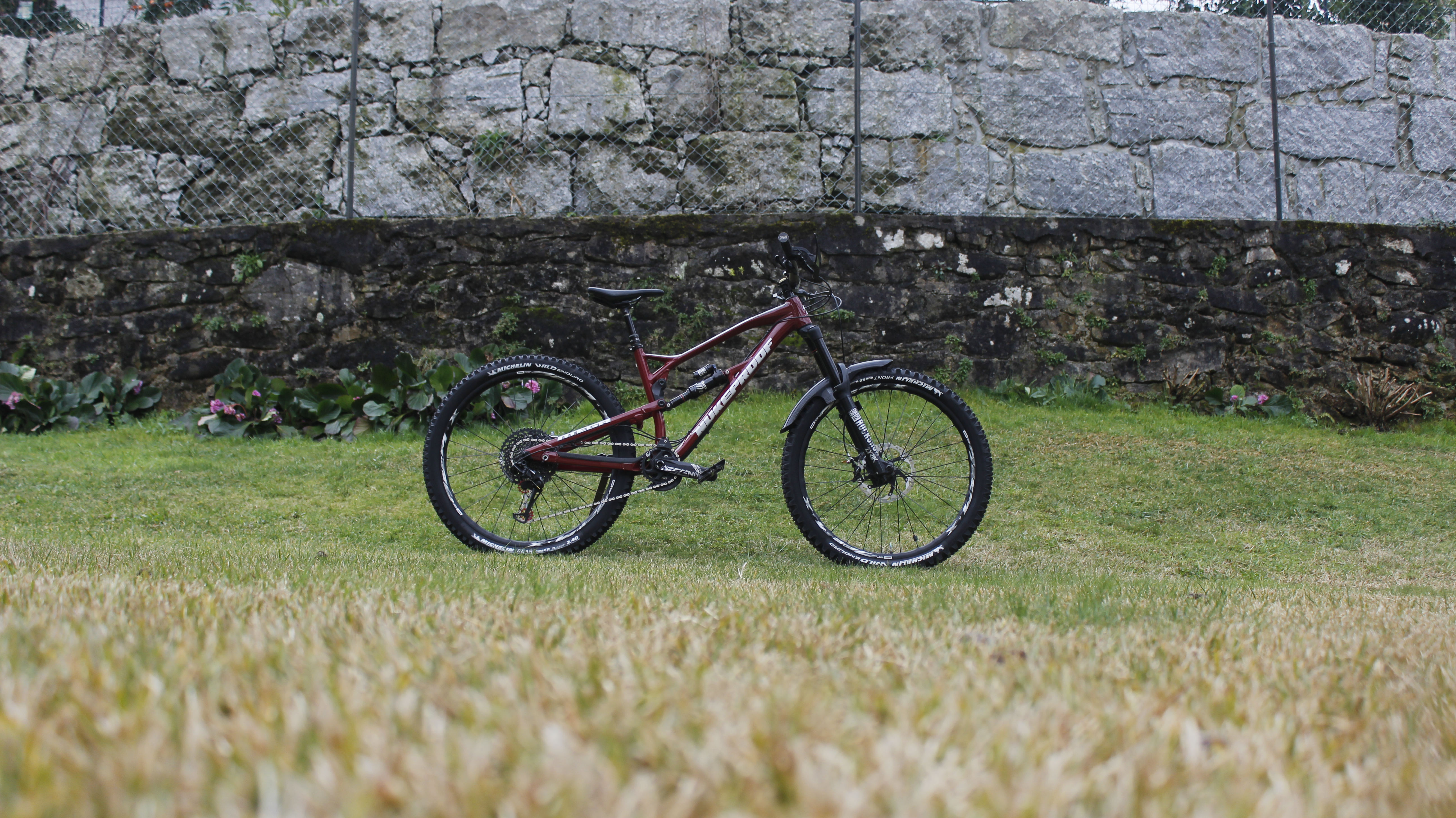 New Stickers Rims Nukeproof mountain bike decals fork custom