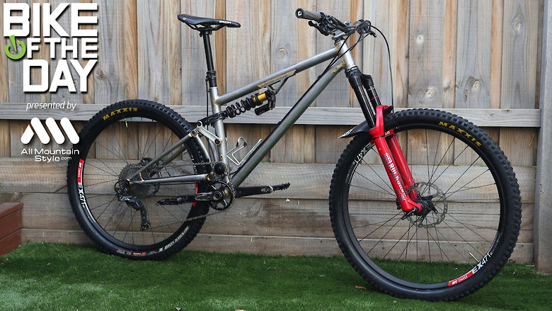 Homemade Enduro Race Bike