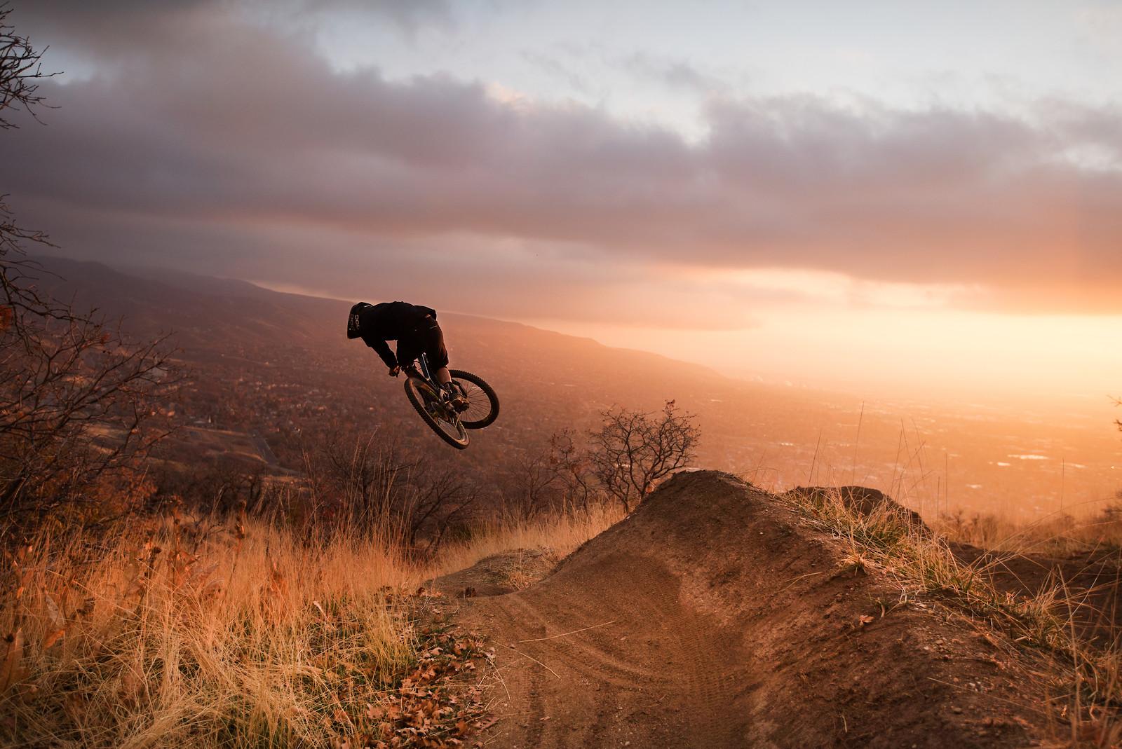 Sideways Sunsets - Austin Tucker Media - Mountain Biking Pictures - Vital MTB