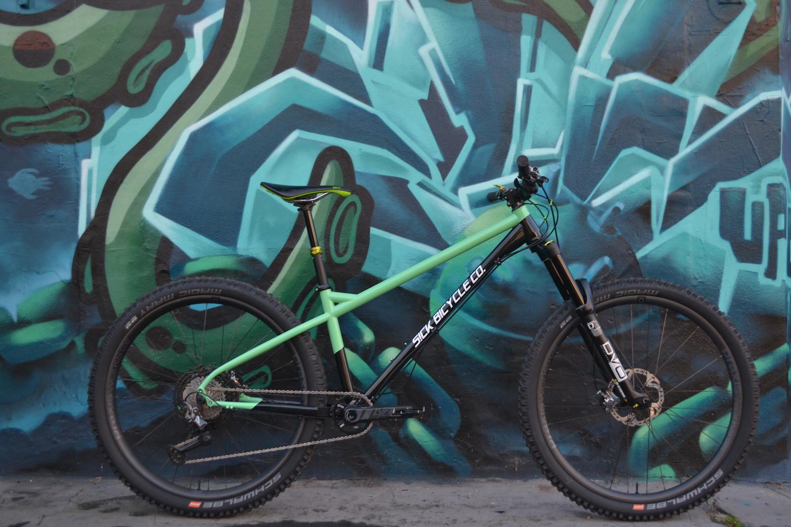 Sick bike co Shrike Minty build