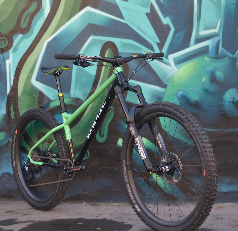 Sick bike Co Shrike build - Minty
