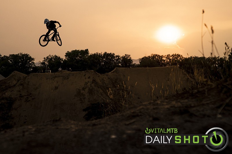 Forest Fire Sunset - Matt_Jones_Photo - Mountain Biking Pictures - Vital MTB