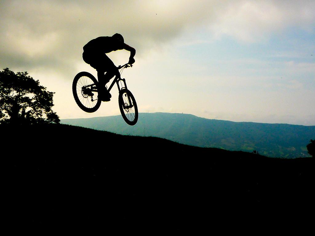 Jaizkibel Jumping Basquemtb Mountain Biking Pictures
