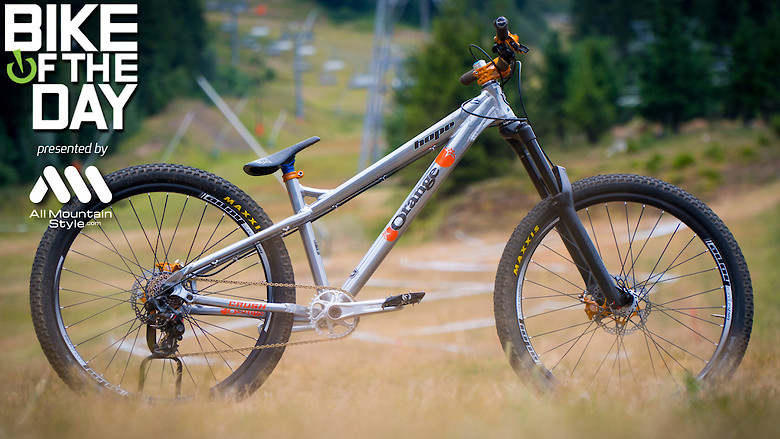 Orange Bikes Crush full Hope | Converted into a dirt by Valentin Anouilh