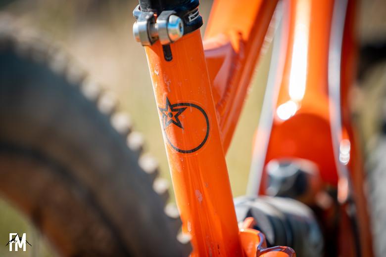 Orange Bikes 329 - James Anderson Factory Rider
